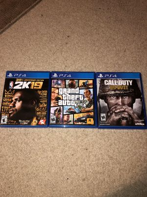 ps4 video games for Sale in Avon, OH