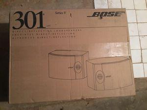 Bose 301-V stereo loud speakers for Sale in Philadelphia, PA
