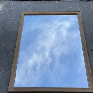 Solid Made In USA 3 By 4 Feet Glass Framed Mirror for Sale in Orlando, FL