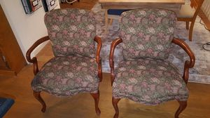 Queen anne chair set for Sale in Allentown, PA