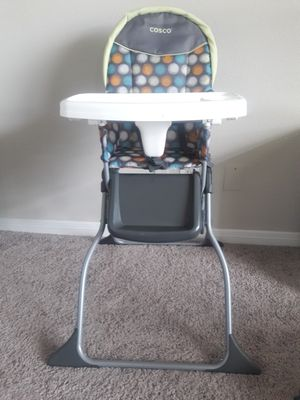 Cosco Simple Fold Full Size High Chair for Sale in Fairfax, VA