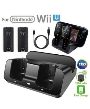 Charger Dock Stand Station for Nintendo Wii U Gamepad Remote for Sale in Glendale, AZ