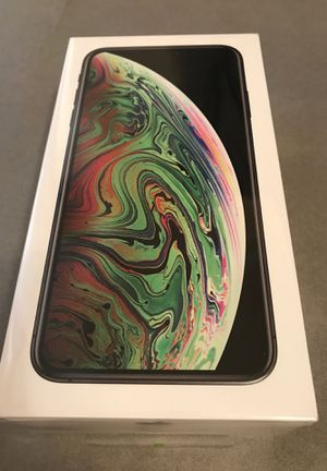 New sealed Apple iPhone XS Max 256gb space gray Unlocked for Sale in San Jose, CA