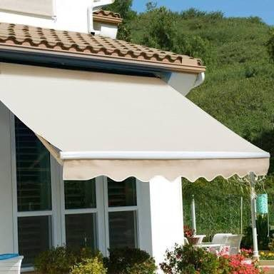PENDING PICK UP 10X8 retractable patio awning for Sale in ...