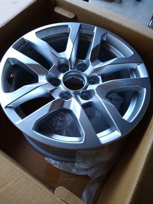 4 new OEM GMC / Chevy 18 inch rims/wheels for Sale in Choctaw Beach, FL