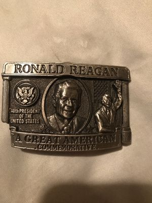 Limited Edition Ronald Reagan Belt Buckle for Sale in TIMBERCRK CYN, TX