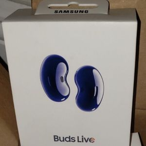 (New in Seal) Samsung Galaxy Buds Live, blue for Sale in Carlsbad, CA