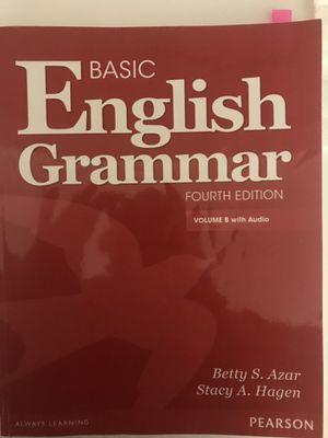 Basic English Grammar (fourth edition) volume B with Audio for Sale in Boston, MA