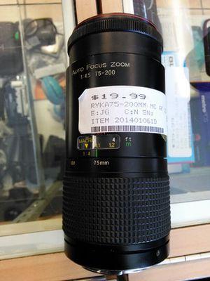 Ryka 75-200 mm camera lens for Sale in Miami, FL
