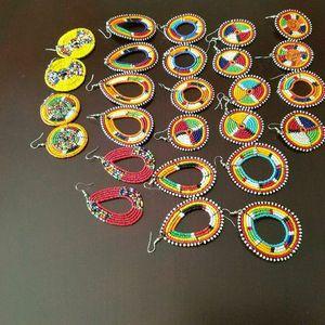 Maasai beaded earrings. for Sale in Bowie, MD
