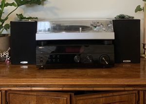 Audio Technica 120 with speakers and stereo receiver for Sale in Los Angeles, CA