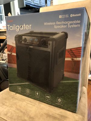 ION Audio Tailgater (iPA77) | Portable Bluetooth PA Speaker with Mic, AM/FM Radio, and USB Charge Port for Sale in San Jose, CA