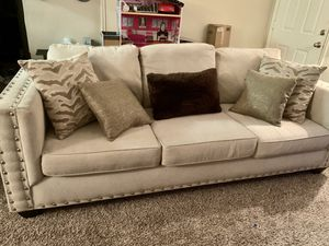 Modern Beige Couch and Loveseat Set for Sale in Euless, TX