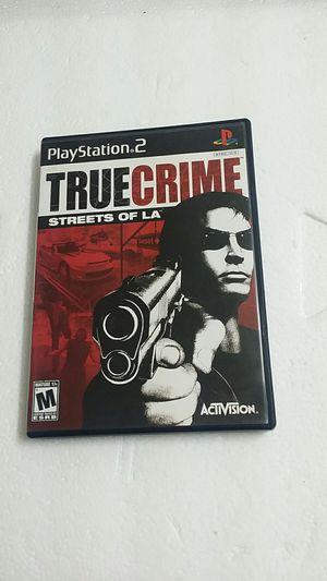True Crime Streets of LA, PS2 for Sale in El Cajon, CA
