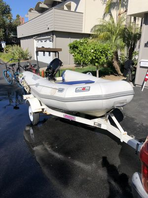 11' Boat with Trailer For Sale for Sale in Costa Mesa, CA