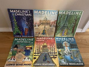 Madeline Books and Paper Dolls Very Clean Like New for Sale in Federal Way, WA