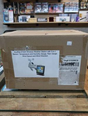 AcuRite 01528 5-in-1 Sensor Wireless Weather Station for Sale in Mesa, AZ