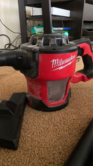 Milwaukee cordless vacuum for Sale in Hayward, CA