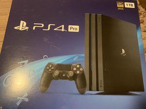 PS4 Pro 1TB - plus lots of accessories for Sale in Fort Lauderdale, FL