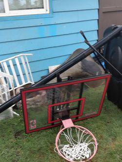 Adjustable basketball hoop for Sale in Milwaukie,  OR