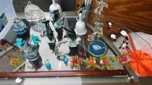 Decorative glass figurines and bells and dolphins for Sale in Kent, WA