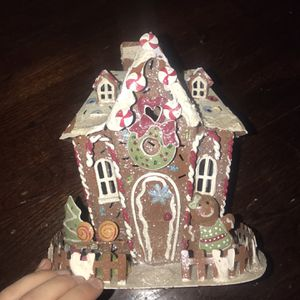 Gingerbread House Candle Holder for Sale in Christiana, TN