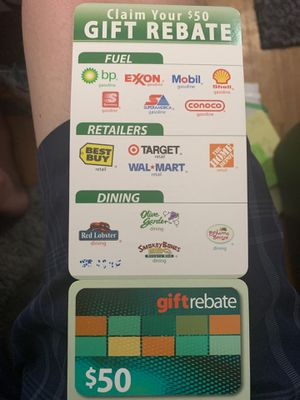 $50 rebate card to places on card for Sale in Wheat Ridge, CO