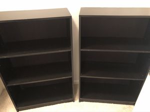 Set of 2 bookshelves for Sale in Brentwood, CA