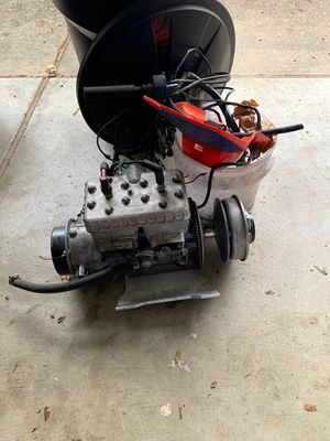 Snowmobile motor 550cc two-stroke house good impression starts and runs fine for Sale in Gresham, OR
