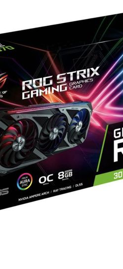 Asus RTX 3070 ROG STRIX Graphics Card Brand New SEALED for Sale in Queens,  NY