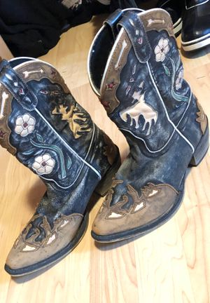 Cowgirl boots size 2 girls centerville for Sale in Tenino, WA