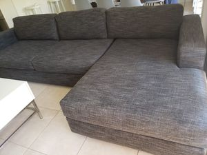 West Elm sectional couch/sofa for Sale in Coral Gables, FL