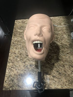 Mounting Pole, head, Face & Columbia Typhodont for Sale in Bothell, WA