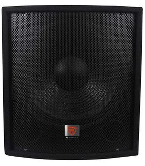 "2 Rockville SBG1158 15"" 800 Watt Subwoofer Sub. Rockville 4.4 out of 5 stars 185 Reviews (2) Rockville RSG12 12"" 3-Way 1000 Watt 8-Ohm Passive DJ/P for Sale in North Miami, FL"