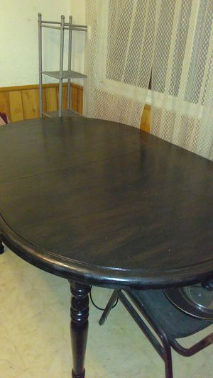 Completely restored dining table with or without bench for Sale in Lincoln Park, MI