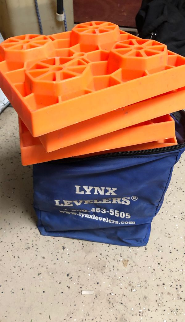Lynx Levelers for trailers campers and RVs