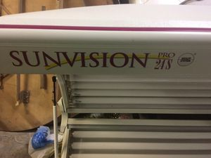 SUNVISION tanning bed for Sale in Knoxville, TN