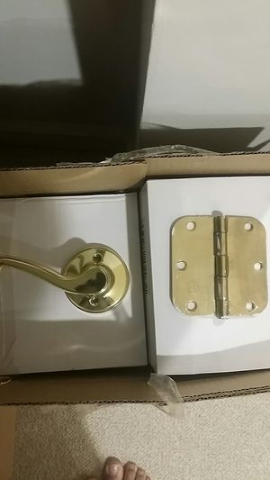 French door handles and hinges for Sale in South Riding, VA