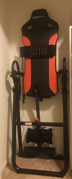 Health Gear Inversion Table for Sale in Crofton, MD
