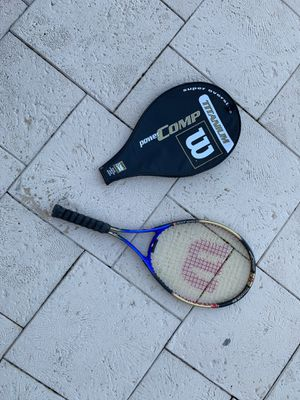 Wilson titanium oversized tennis racket for Sale in Miramar, FL