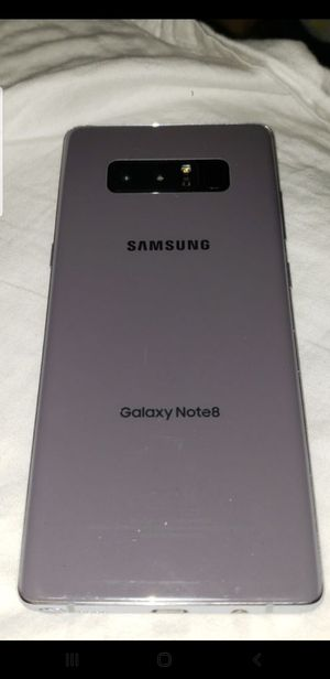 T mobile / metro pcs / international - 64gb Galaxy note 8 as is - works flawlessly with cracked screen for Sale in San Diego, CA