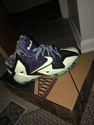 DS never worn Lebron 11 allstar/gumbo size 10 OG all looking for Jordan's 1-12 must be DS or a 2for1 trade for Sale in Parma, OH