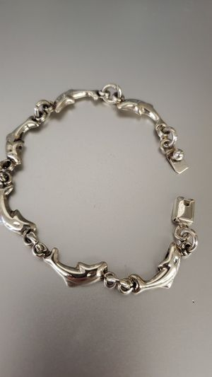 "Sterling silver bracelet ""Dolphins"" for Sale in Cleveland, OH"