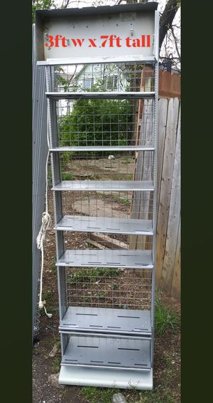 LIGHTED SHELVING UNIT for Sale in Columbus, OH