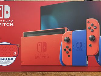 Nintendo Switch Mario Red And Blue Edition for Sale in Hawthorne,  CA