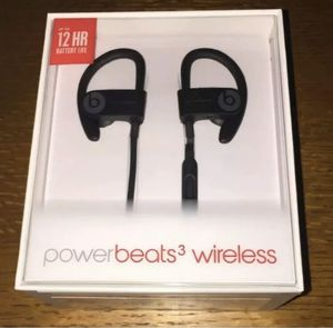 Powerbeats 3 Wireless- Black for Sale in Rogers, AR