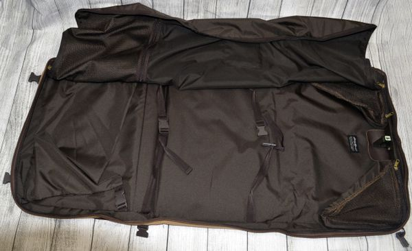 Eddie Bauer Canvas Garment Bag GREAT CONDITION