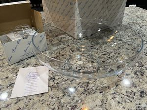 Princess House bowl & tea lights for Sale in Boonsboro, MD