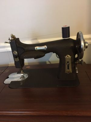 White antique electric sewing machine for Sale in Nashville, TN