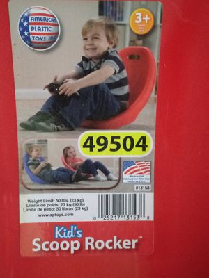Kids plastic rocker for Sale in Hannibal, MO